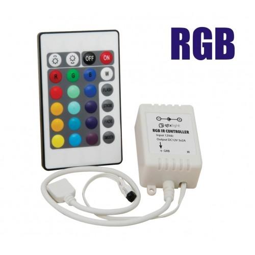 Control Remoto para Cinta LED RGB